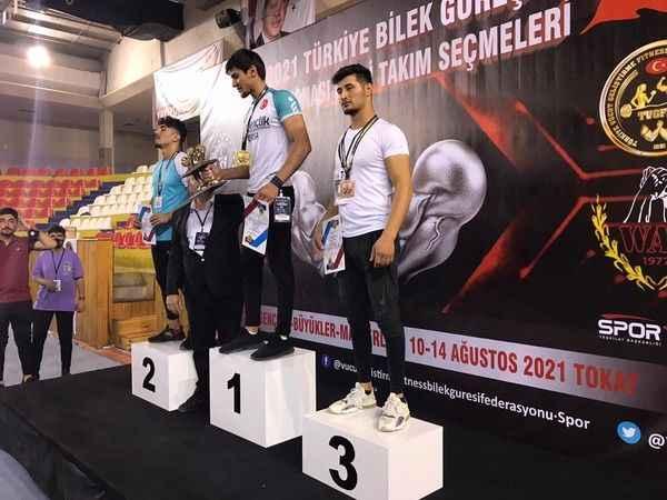 Bozdoğanlı sporcu Türkiye 3.'sü oldu
