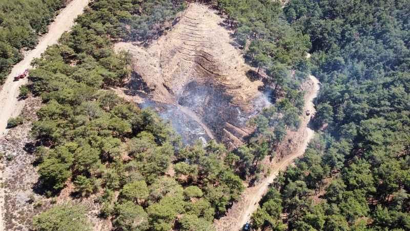 Nazilli'deki yangın 20 dakika da kontrol altına alındı