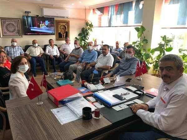 MHP'de istişare toplantısı yapıldı