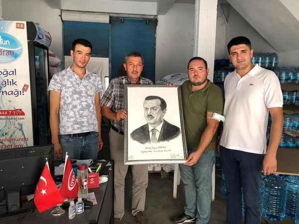 AK Parti Koçarlı'dan Kurucu Başkan Çallak'a vefa
