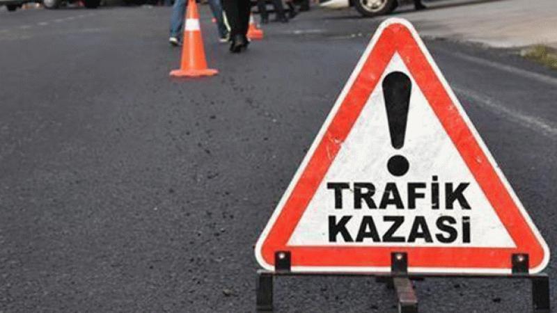 Yolcu minibüsünün karıştığı kazada 7 yaralı