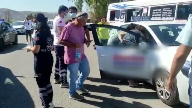 Aydın'da kaza; 6 yaralı