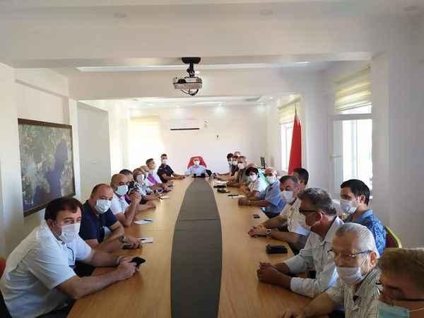 Didim Kaymakamlığı'ndan yardım koordinasyon toplantısı