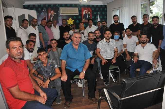 Gelecek Partisi Aydın Teşkilatı'na katılımlar sürüyor