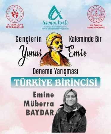 Müberra, Aydın'ı gururlandırdı
