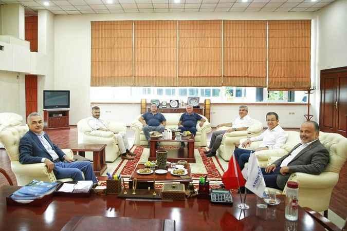 AK Partili milletvekillerinden ATB'ye ziyaret