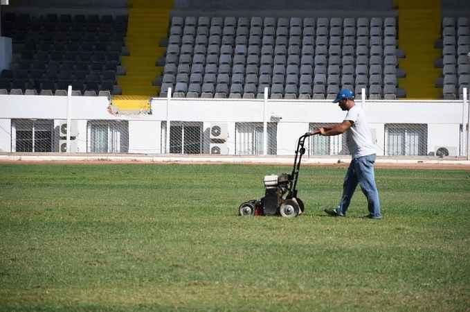 Özer Türk stadı TFF kriterlerine uygun hale getiriliyor