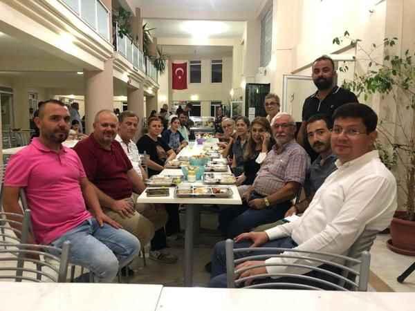 Başkan Özcan, muharrem matemi ve lokma buluşmasına katıldı