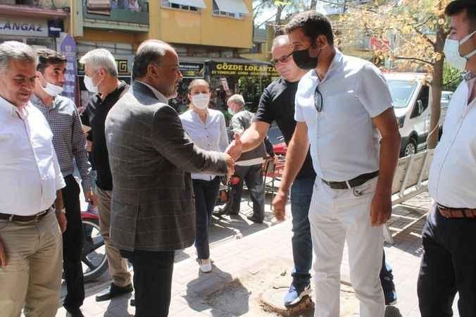 Yavuz, Buharkent'te vatandaşlarla buluştu