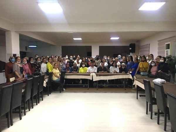 Nazillili girişimci kadınlara KOSGEB destekleri anlatıldı
