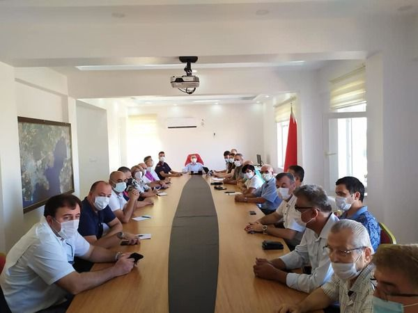 Afet bölgelerine yardım için Didim'deki STK'lar toplandı