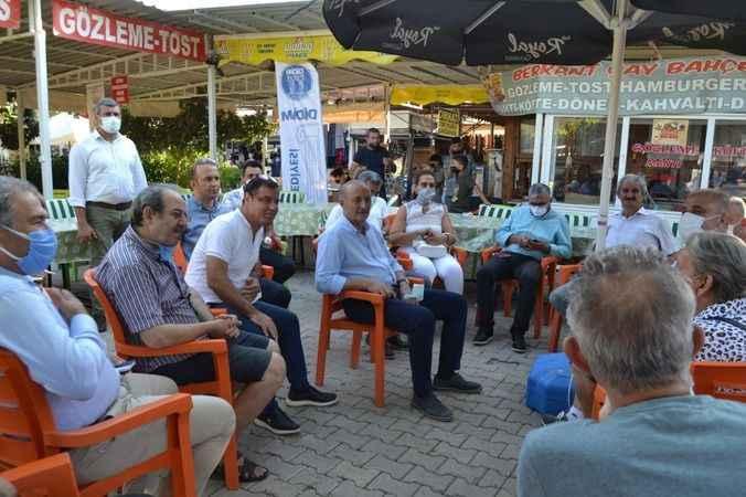 Atabay, Mavişehir esnafının sorunlarını yerinde dinledi