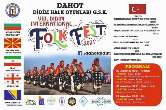"""Didim """"FolkFest 2021"""" 27-30 Ağustos'ta"""