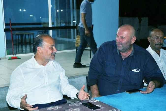 AK Partili Yavuz, Kuyucak'ta vatandaşların sorun ve taleplerini dinledi