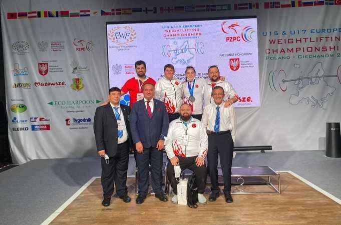 Aydınlı Burcu, Avrupa Şampiyonu oldu