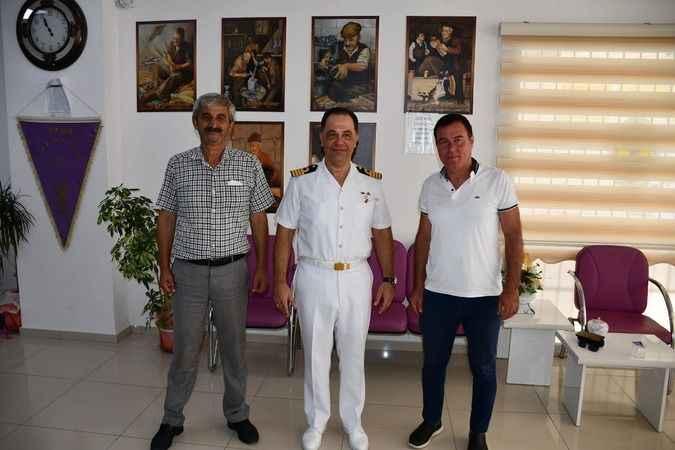 Garnizon Komutanı Gülseven'den veda ziyareti