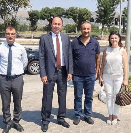 Karayolları Bölge Müdürü, İncirliova'da proje alanını inceledi