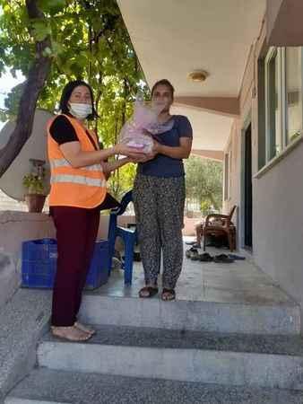 Kuyucak Belediyesi, hoş geldin bebek projesini sürdürüyor