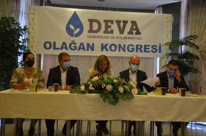 DEVA Partisi Aydın'da ilk kongresini Nazilli'de yaptı