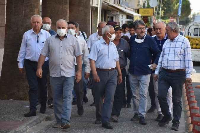 İYİ Partili Demirci, Karacasu'yu ziyaret etti