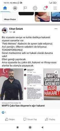 İYİ Partili Çelikez'den MHP'ye seviyesiz cevap
