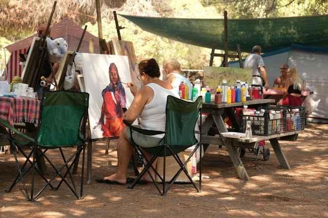 '11. Wiacamp Sanat Kampı' Didim'de gerçekleştirildi