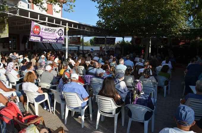 Didim Cemevi'nde Muharrem Cemi yapıldı; lokmalar paylaşıldı