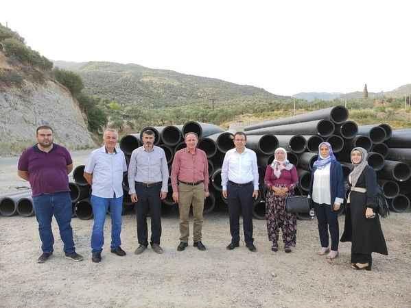 Sultanhisar'da sulama projesi, 2022'de hizmete girecek