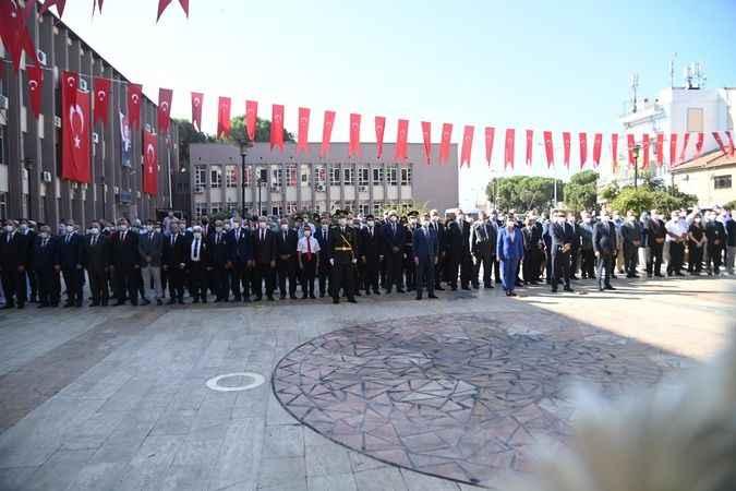 Aydın'da 30 Ağustos Zafer Bayramı kutlandı