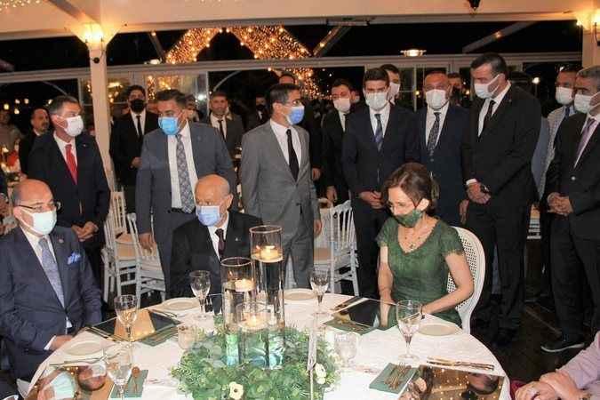 Depboylu'nun oğlunun düğününe MHP lideri Bahçeli katıldı