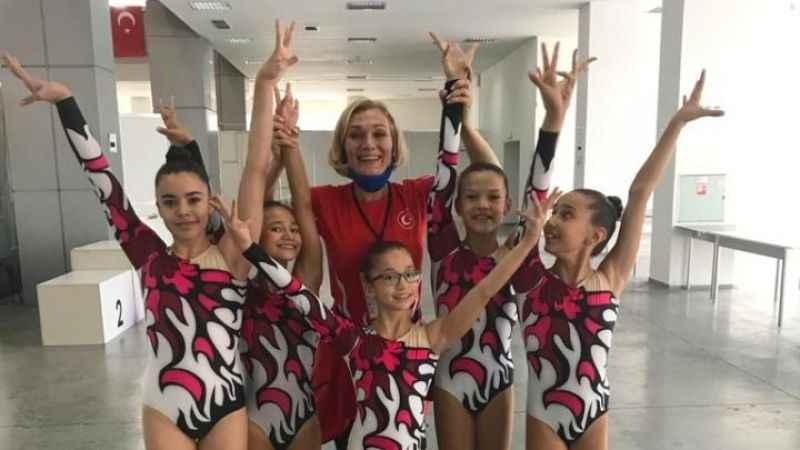 Didimli Jimnastikçiler şampiyonada 3. oldu