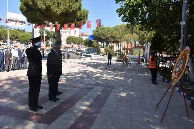 Karacasu'da 30 Ağustos törenleri gerçekleştirildi