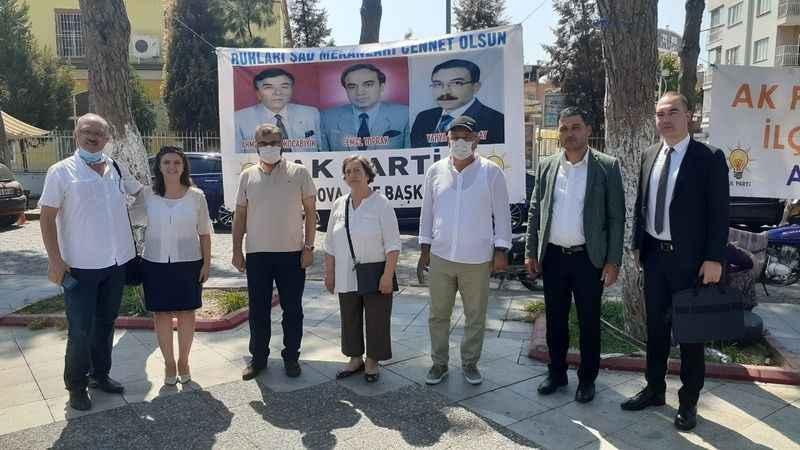 AK Parti İncirliova, merhum belediye başkanları için hayır yaptı