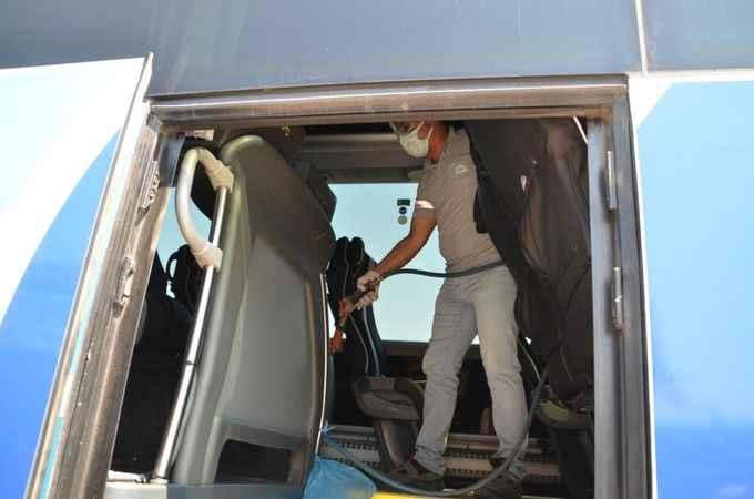Covid-19 hastası, yolcu otobüsünde yakalandı