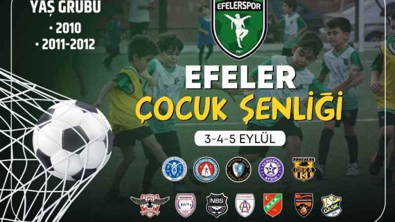 Efeler'de Çocuk Şenliği Futbol Turnuvası düzenlenecek