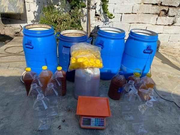 Sultanhisar'da sahte alkol operasyonu