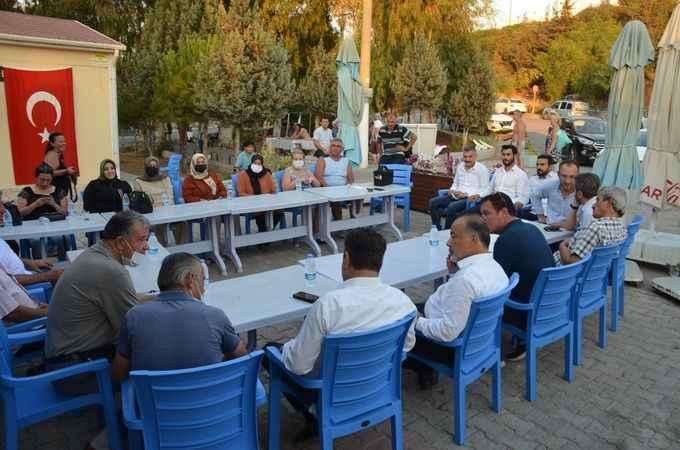 AK Partili Yavuz'dan Mavişehir esnafına sürpriz vaat