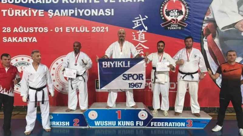 Bahadır, Türkiye şampiyonu oldu