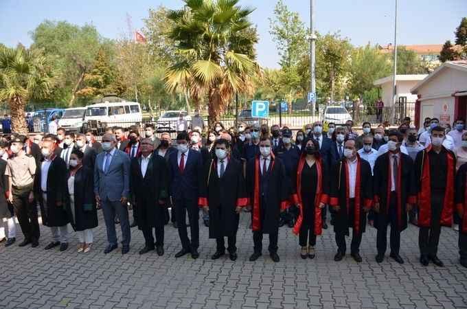 Nazilli'de yeni adli yıl törenle açıldı