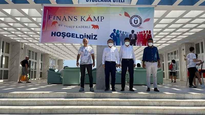 Finans kampı ADÜ Didim'de başladı