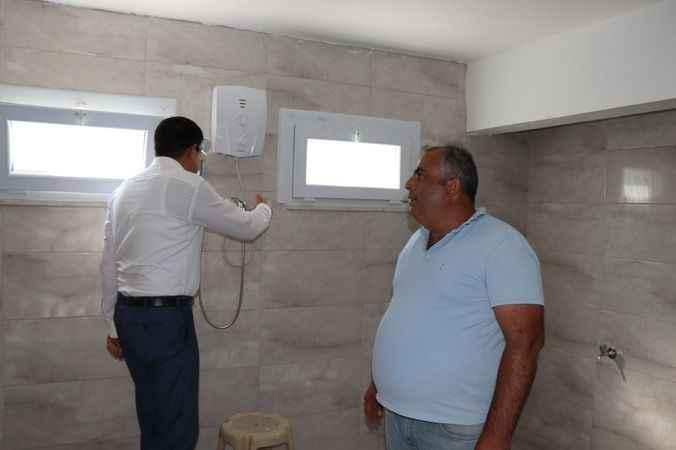Nazilli Belediyesi, Karahallı'da çalışmalara devam ediyor