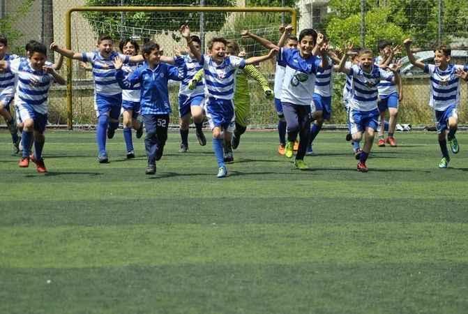 Yıldızspor'un öğrencileri şenlikte eğlenecek