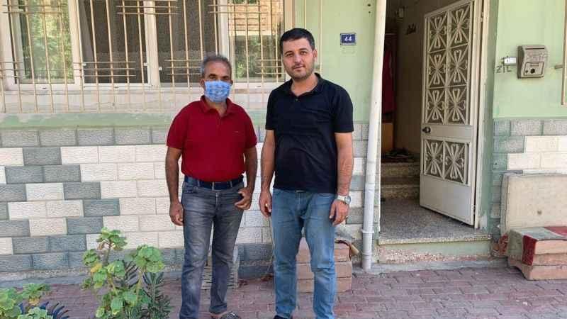 Başkan Celbek, yardım isteyen aileye destek oldu