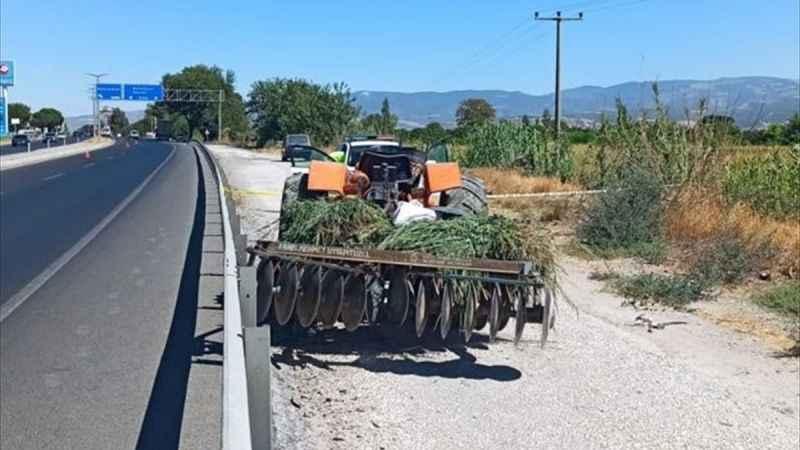 Kuyucak'ta traktörden düşen kişi hayatını kaybetti