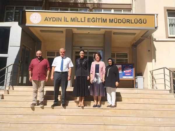 AK Partili Sarıbaş'tan, İl Müdürü Okumuş'a ziyaret