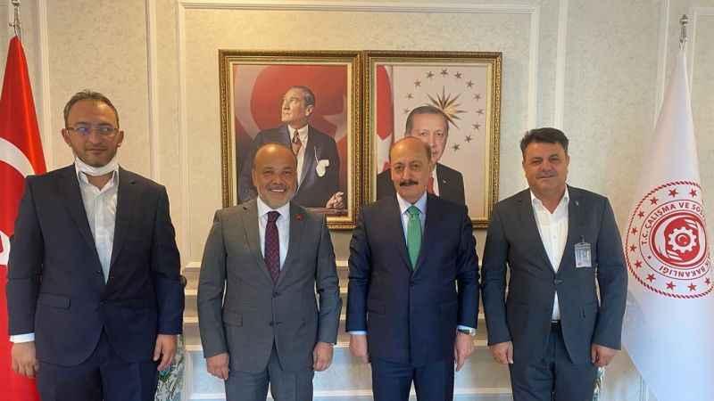 AK Partili Yavuz, Aydın'ın projeleri için devrede