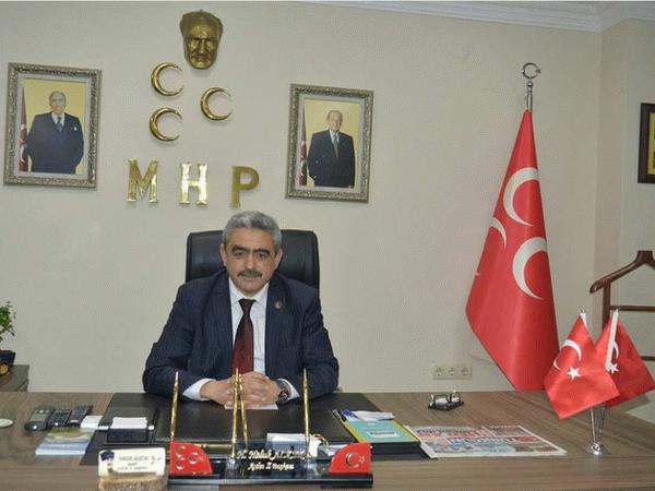 MHP'li Alıcık, zabıtaları unutmadı