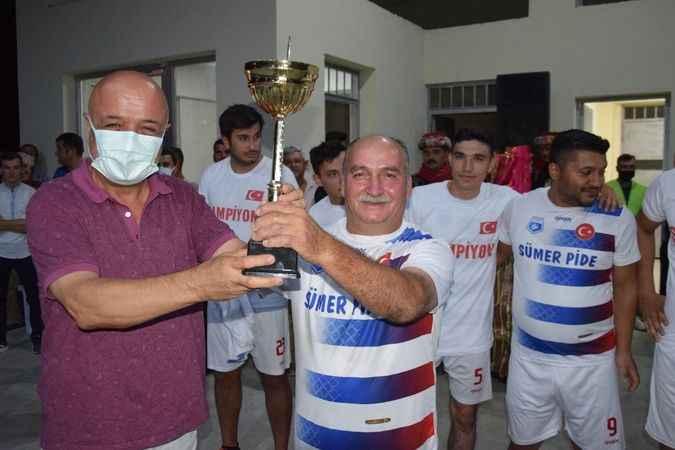 Karacaören'de şampiyon Hamzabali