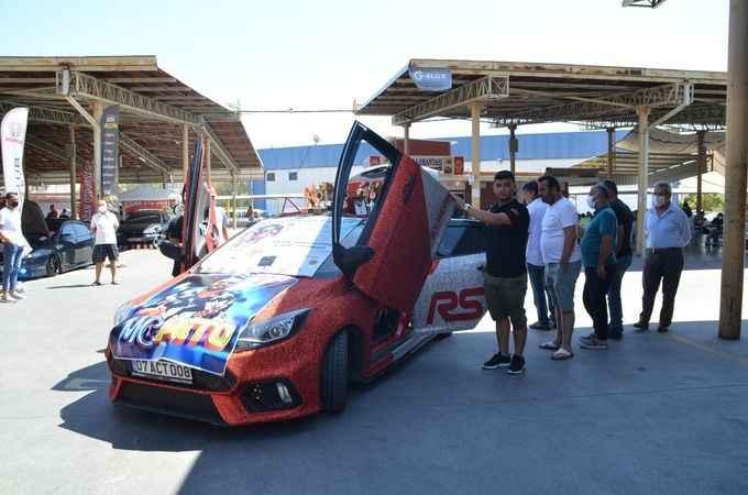 Söke'de modifiye araç festivali düzenlendi