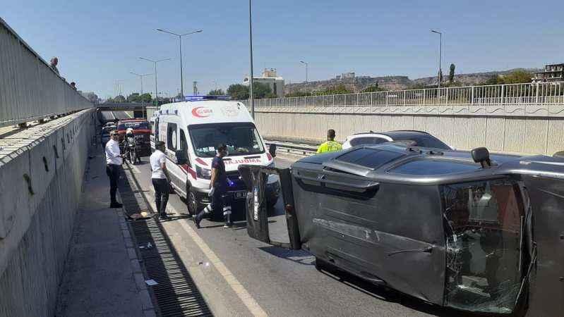 Aydın'da feci kaza: 4 yaralı